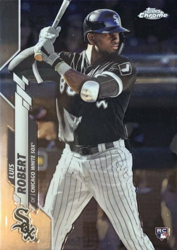 Luis Robert Rookie Cards Guide 15