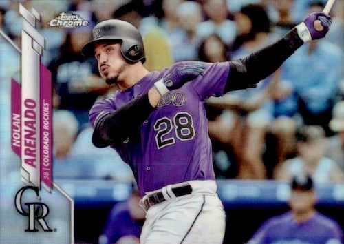 2020 Topps Chrome Baseball Variations Refractor Gallery 41