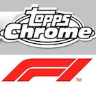 2020 Topps Chrome Formula 1 Racing Cards
