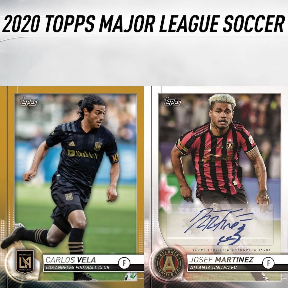 2020 Topps Mls Soccer Checklist Set Info Buy Boxes Date Reviews