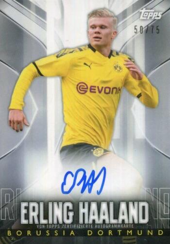 2020 Topps Transcendent BVB Borussia Dortmund Soccer Cards - Checklist Added 6