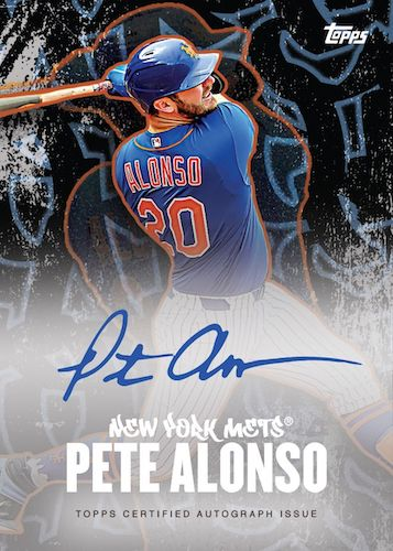 2020 Topps X Pete Alonso Baseball Cards 2