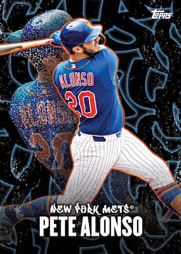 2020 Topps X Pete Alonso Baseball Cards 10