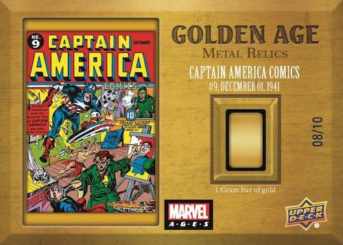 2020 Upper Deck Marvel Ages Trading Cards - Checklist Added 13