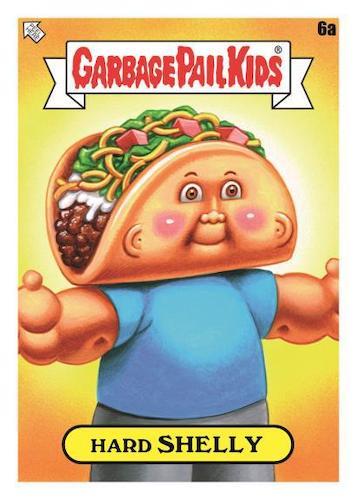 2021 Topps Garbage Pail Kids Food Fight GPK Series 1 Trading Cards 3