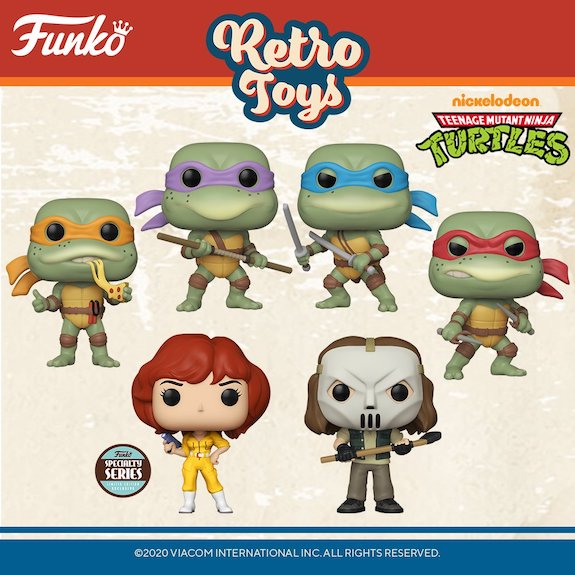 Funko Pop Retro Toys Figures 4