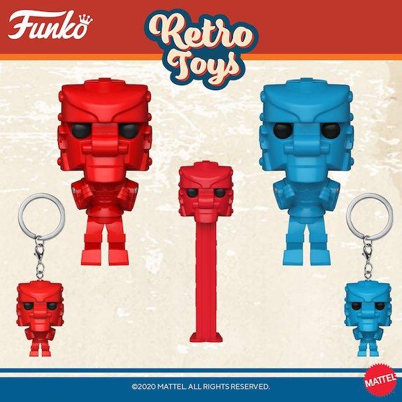 Funko Pop Retro Toys Figures 6