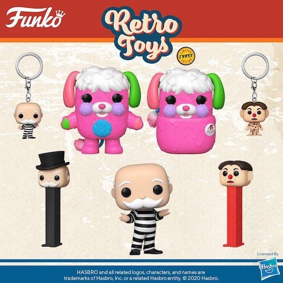 Funko Pop Retro Toys Figures 5