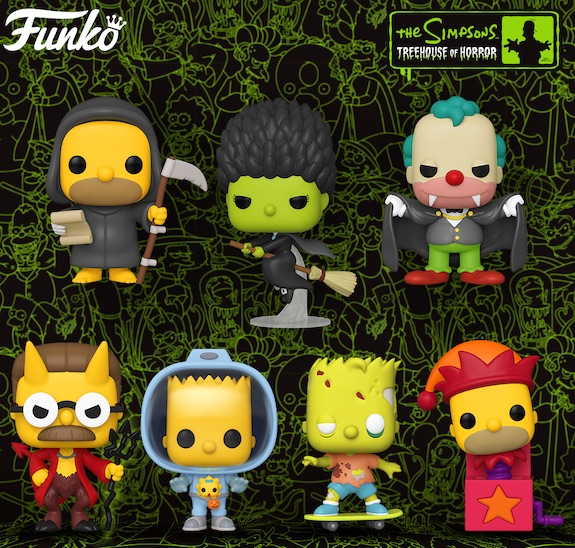 Ultimate Funko Pop Simpsons Figures Gallery and Checklist 23