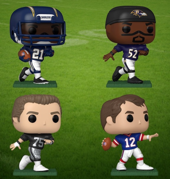 Ultimate Funko Pop NFL Football Figures Checklist and Gallery - 2020 Legends Figures 189