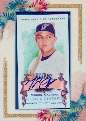 Top 10 Miguel Cabrera Baseball Cards 9