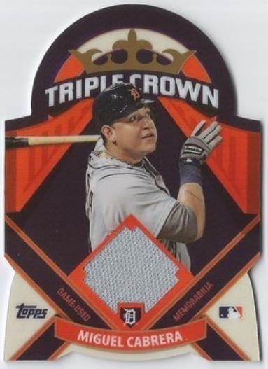 Top 10 Miguel Cabrera Baseball Cards 2