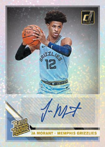 2019-20 Clearly Donruss Basketball Cards 8