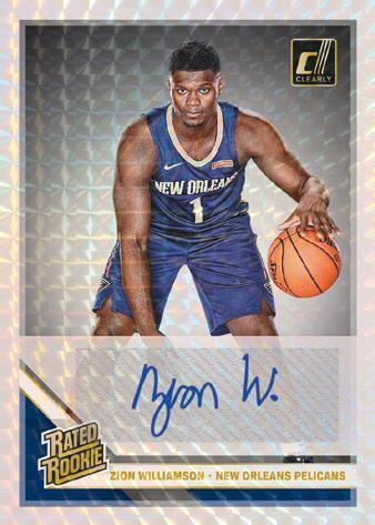 2019-20 Clearly Donruss Basketball Cards - Checklist Added 7