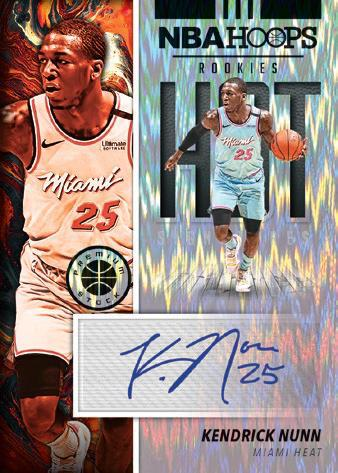 2019-20 NBA Hoops Premium Stock Basketball Cards - Checklist Added 7