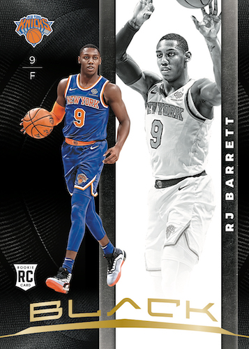2019-20 Panini Black Basketball Cards - Checklist Added 4