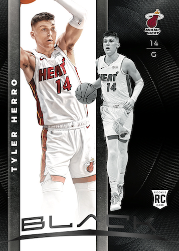 2019-20 Panini Black Basketball Cards - Checklist Added 3