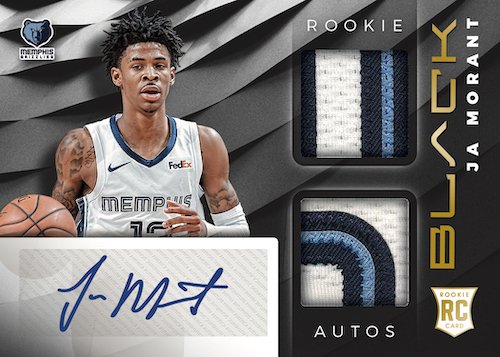 2019-20 Panini Black Basketball Cards - Checklist Added 5