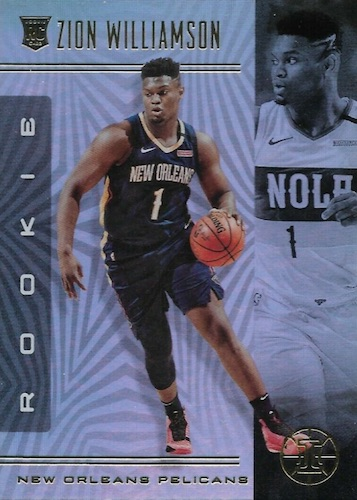 Top Zion Williamson Rookie Cards to Collect 12