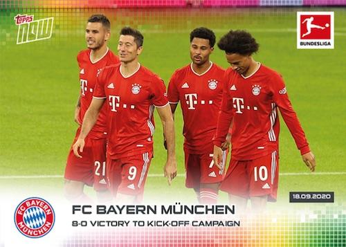 2020-21 Topps Now Bundesliga Soccer Cards Checklist 1