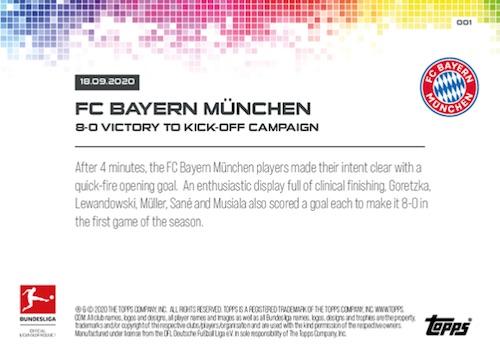 2020-21 Topps Now Bundesliga Soccer Cards Checklist 2