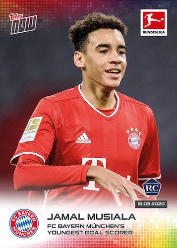2020-21 Topps Now Bundesliga Soccer Cards Checklist 3