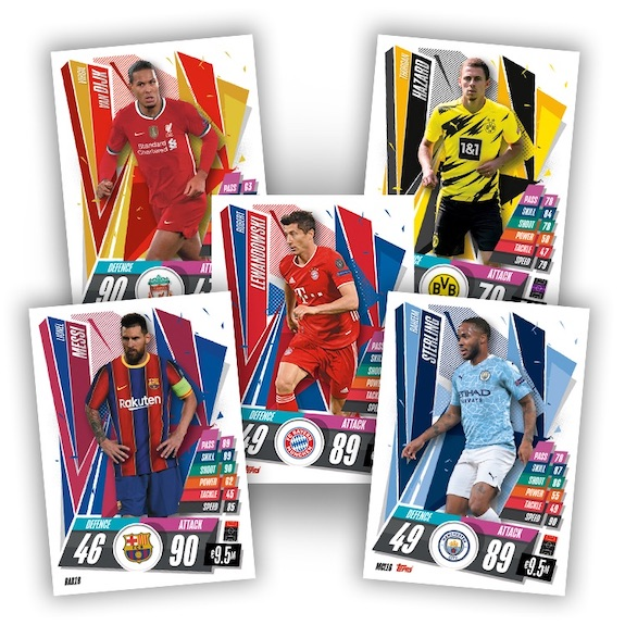 2020-21 Topps UEFA Champions League Match Attax Cards 3