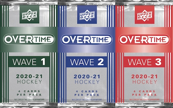 2020-21 Upper Deck Overtime Hockey Cards - Wave 2 Checklist Added 4