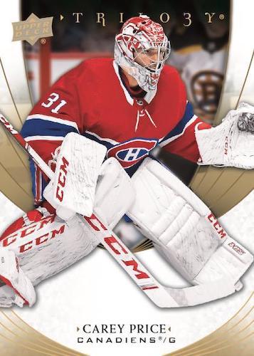 2020-21 Upper Deck Trilogy Hockey Cards 1