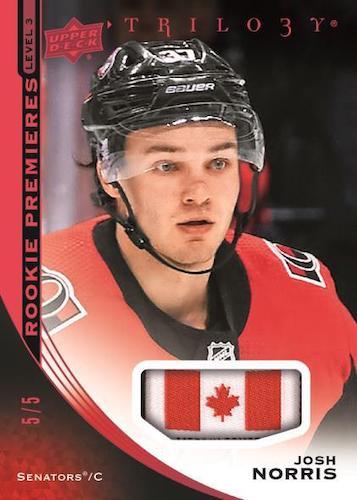 2020-21 Upper Deck Trilogy Hockey Cards - Checklist Added 5