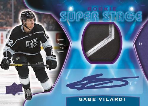 2020-21 Upper Deck Trilogy Hockey Cards - Checklist Added 6