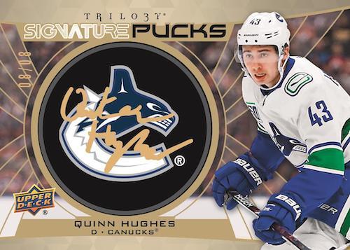 2020-21 Upper Deck Trilogy Hockey Cards - Checklist Added 9