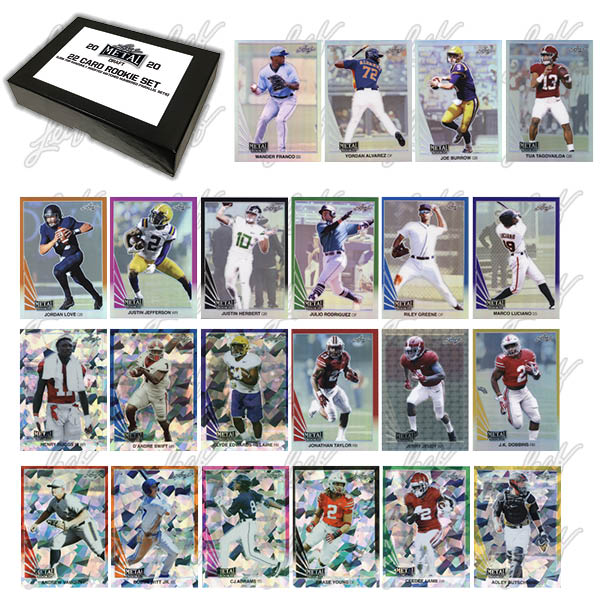 2020 Leaf Metal Rookie Set Multi-Sport Cards 1