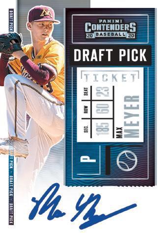 2020 Panini Contenders Baseball Cards 5