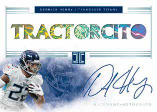 2020 Panini Impeccable Football Cards - Checklist Added 8