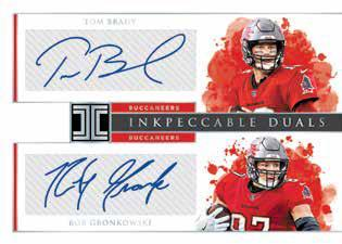 2020 Panini Impeccable Football Cards - Checklist Added 9
