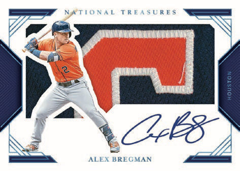 2020 Panini National Treasures Baseball Cards - Checklist Added 8