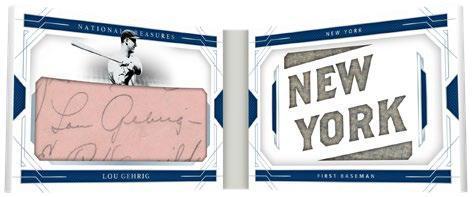 2020 Panini National Treasures Baseball Cards - Checklist Added 11
