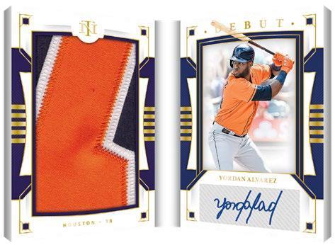 2020 Panini National Treasures Baseball Cards - Checklist Added 10