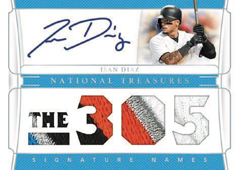 2020 Panini National Treasures Baseball Cards - Checklist Added 4