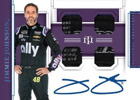 2020 Panini National Treasures Racing NASCAR Cards 8