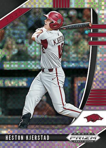 2020 Panini Prizm Draft Picks Baseball Cards 2
