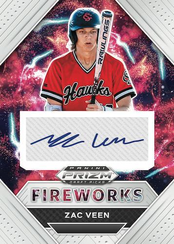 2020 Panini Prizm Draft Picks Baseball Cards 7