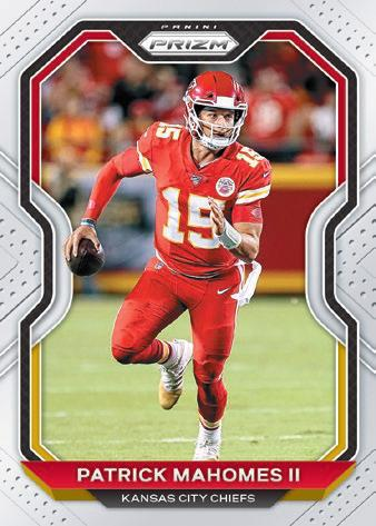 2020 Panini Prizm Football Cards 1