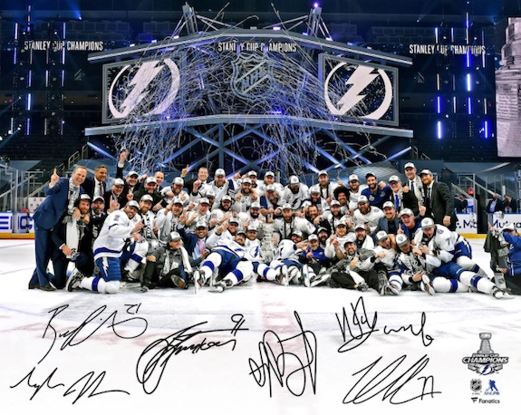 2020 Tampa Bay Lightning Stanley Cup Champions Memorabilia Guide 9