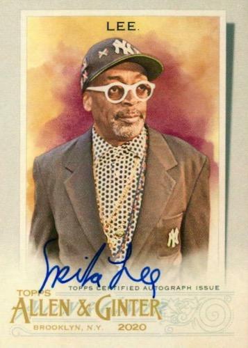 2020 Topps Allen & Ginter Non-Baseball Autographs Guide 2
