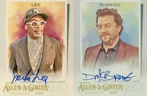 2020 Topps Allen & Ginter Non-Baseball Autographs Guide
