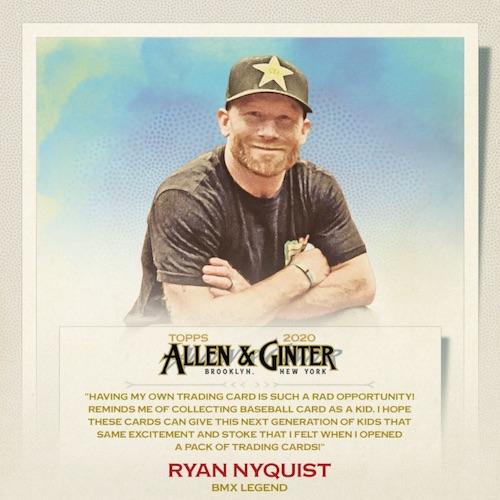 2020 Topps Allen & Ginter Non-Baseball Autographs Guide 36