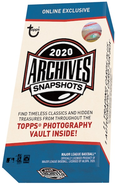 2020 Topps Archives Snapshots Baseball Cards 3