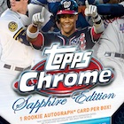 2020 Topps Chrome Sapphire Edition Baseball Cards